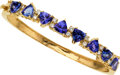 Estate Jewelry:Bracelets, Tanzanite, Diamond, Gold Bracelet. ...