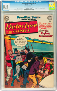 Detective Comics #170 (DC, 1951) CGC VF+ 8.5 Off-white to white pages