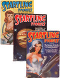 Pulps:Science Fiction, Captain Future Pulp Group (Thrilling/Standard, 1944-51) Condition:Average VG+.... (Total: 14 )