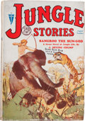 Pulps:Adventure, Jungle Stories V1#1 (Fiction House, 1931) Condition: VG/FN....