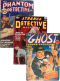 Pulps:Detective, Assorted Hero Detective Pulps Group (Various, 1937-40) Condition:Average VG+.... (Total: 4 )