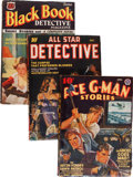 Pulps:Detective, Assorted Detective Pulps Group (Various, 1929-49) Condition:Average VG/FN.... (Total: 13 )