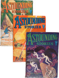 Pulps:Science Fiction, Astounding Stories Group (Street & Smith, 1932) Condition:Average VG/FN.... (Total: 4 )