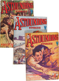 Pulps:Science Fiction, Astounding Stories Group (Street & Smith, 1931) Condition:Average VG+.... (Total: 5 )