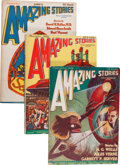 Pulps:Science Fiction, Amazing Stories Group (Ziff-Davis, 1926-31).... (Total: 5 )