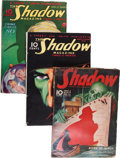 Pulps:Detective, Shadow Box Lot (Street & Smith, 1933-49) Condition: Average VG-....