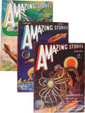 Pulps:Science Fiction, Amazing Stories Group (Ziff-Davis, 1931-32) Condition: AverageVG+.... (Total: 24 )