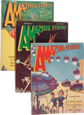 Pulps:Science Fiction, Amazing Stories Group (Ziff-Davis, 1930) Condition: Average VG....(Total: 12 Items)