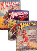 Pulps:Science Fiction, Amazing Stories Group (Ziff-Davis, 1941) Condition: Average VG....(Total: 12 )