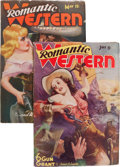 Pulps:Western, Romantic Western Group (Trojan Publishing, 1938).... (Total: 2 Items)