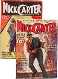 Pulps:Detective, Nick Carter Magazine Group (Street & Smith, 1933-34)....(Total: 2 )