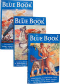 Pulps:Hero, Blue Book Box Lot (McCall, 1935-38) Condition: Average FN-....