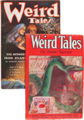 Pulps:Horror, Weird Tales Group (Popular Fiction, 1930-35).... (Total: 2 )