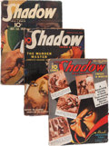 Pulps:Detective, Shadow Box Lot (Street & Smith, 1934-39) Condition: AverageVG-....