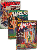 Pulps:Science Fiction, Amazing Stories Group (Ziff-Davis, 1942) Condition: Average VG....(Total: 12 )