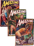 Pulps:Science Fiction, Amazing Stories Box Lot (Ziff-Davis, 1949-53) Condition: AverageVG....