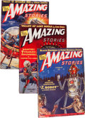 Pulps:Science Fiction, Amazing Stories Group (Ziff-Davis, 1939-40) Condition: AverageVG+.... (Total: 23 )