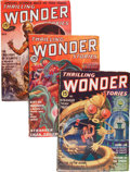 Pulps:Science Fiction, Thrilling Wonder Stories Group (Standard, 1936-50) Condition:Average FN-.... (Total: 17 Comic Books)