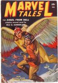 Golden Age (1938-1955):Science Fiction, Marvel Tales - December 1939 (Red Circle, 1939) Condition: FN-....