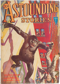 Astounding Stories - January 1932 (Street & Smith, 1932) Condition: VG