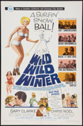 "Movie Posters:Rock and Roll, Wild, Wild Winter (Universal, 1966). One Sheet (27"" X 41""). Rockand Roll.. ..."