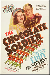 "The Chocolate Soldier (MGM, 1941). One Sheet (27"" X 41"") Style C. Musical"