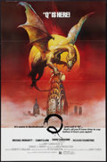 "Movie Posters:Horror, Q (United Film Distribution, 1982). One Sheets (2) (27"" X 41""). Advance and Regular. Horror.. ... (Total: 2 Items)"