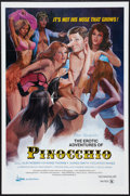 """Movie Posters:Adult, The Erotic Adventures of Pinocchio (Lima Production, 1971). One Sheet (27"""" X 41""""). Adult.. ..."""