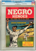 Golden Age (1938-1955):Non-Fiction, Negro Heroes #2 Mile High pedigree (Parents' Magazine Institute,1948) CGC VF 8.0 Off-white pages....