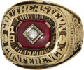 Football Collectibles:Others, 1976 University of Georgia Bulldogs SEC Championship Ring....