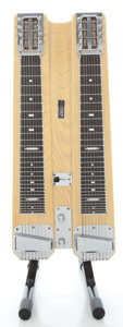 Musical Instruments:Lap Steel Guitars, Mid 1950's Fender Professional Double 8 Blonde Lap Steel Guitar, Serial #3059....