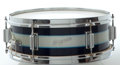 Musical Instruments:Drums & Percussion, Circa 1964 Rogers Luxor Snare Drum Blueburst, Serial #11603....
