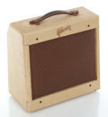 Musical Instruments:Amplifiers, PA, & Effects, 1950's Gibson GA-5 Skylark Tan Guitar Amplifier, Serial #15508....
