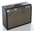 Musical Instruments:Amplifiers, PA, & Effects, Late 1970's Fender Deluxe Reverb Silverface Guitar Amplifier,Serial #F 093191....