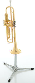 Musical Instruments:Horns & Wind Instruments, Yamaha YTR-2335 Brass Trumpet, Serial #464574A....