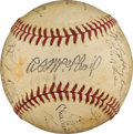 Autographs:Baseballs, 1941 Brooklyn Dodgers Team Signed Baseball....
