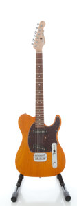 Musical Instruments:Electric Guitars, G & L ASAT Amber Solid Body Electric Guitar, Serial #CLF27663....