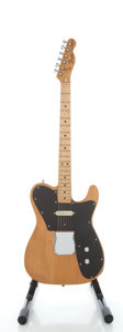 Musical Instruments:Electric Guitars, 1973 Fender Telecaster Custom Refinished Solid Body Electric Guitar, Serial #380545....