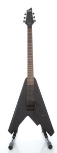 Musical Instruments:Electric Guitars, Schecter Damien B-2 FR Black Solid Body Electric Guitar, Serial#U080501647....