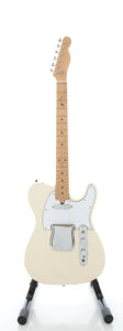 Musical Instruments:Electric Guitars, 1970's Project Tele Copy White Solid Body Electric Guitar, Serial#1022682....