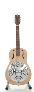 Musical Instruments:Resonator Guitars, Tom Morici SM-88 Natural Resonator Guitar, Serial #0305-034....