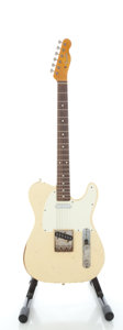 Musical Instruments:Electric Guitars, Project Telecaster Copy White Solid Body Electric Guitar...