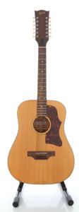 Musical Instruments:Acoustic Guitars, 1975 Gibson B45-12 Natural 12 String Acoustic Guitar, Serial #A058098....