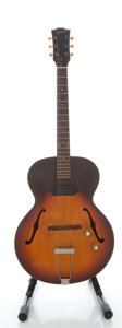 Musical Instruments:Electric Guitars, 1964 Gibson ES 125 T Sunburst Archtop Electric Guitar, Serial#266326....