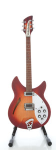 Musical Instruments:Electric Guitars, 1992 Rickenbacker 330 Fireglo Semi-Hollow Body Electric Guitar,Serial #D5 7877....