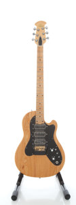 Musical Instruments:Electric Guitars, Circa 1981 Ovation Viper III Natural Solid Body Electric Guitar,Serial #E16980....