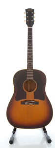 Musical Instruments:Acoustic Guitars, Circa 1967 Gibson J-45 Sunburst Acoustic Guitar, Serial #119526....