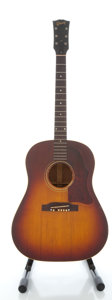 Musical Instruments:Acoustic Guitars, Late 1949 Gibson J-45 Cherry Sunburst Acoustic Guitar, Serial#2730....