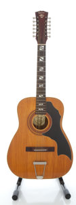 Musical Instruments:Acoustic Guitars, Circa 1960's Espania 2108 Natural 12 String Acoustic Guitar, Serial #72196....