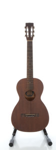 Musical Instruments:Acoustic Guitars, Circa 1940's Supertone Mahogany Acoustic Guitar...